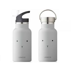 LIEWOOD Wasserflasche Anker HASE hellgrau