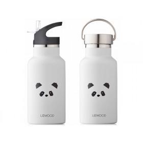 LIEWOOD Wasserflasche Anker PANDA hellgrau