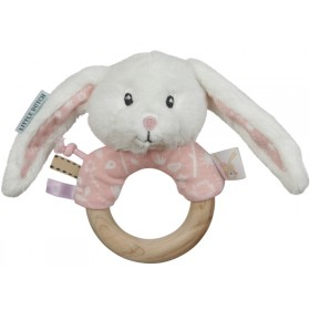 Little Dutch Rasselring HASE rosa
