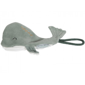 Little Dutch Schnullerhalter Ocean WAL mint
