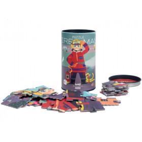 Londji Berufe-Puzzle FEUERWEHRMANN (36 Teile)