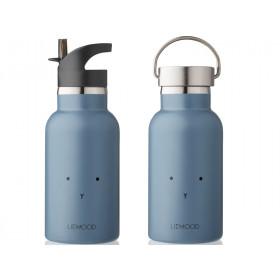 LIEWOOD Wasserflasche Anker HASE dunstblau