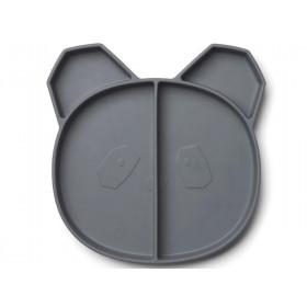 LIEWOOD Menüteller Maddox PANDA dunkelgrau