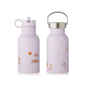 LIEWOOD Wasserflasche Anker SEASIDE Light Lavender