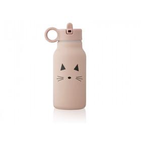 LIEWOOD Wasserflasche 250ml FALK Cat Rose