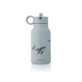 LIEWOOD Wasserflasche 250ml FALK Sea Creature Blue Mix