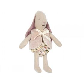 Maileg Micro Kaninchen mit WESTE rosa