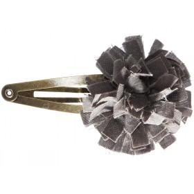 Maileg Haarspange STOFFBLUME Grau