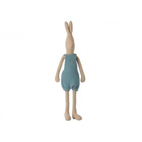 Maileg Hase mit OVERALL blau (Größe 3)