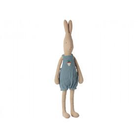 Maileg Hase mit OVERALL blau (Größe 4)