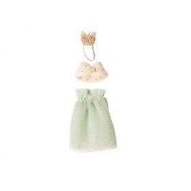 Maileg Maus Puppenkleidung für Mama KÖNIGIN