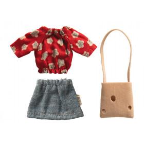 Maileg Puppenkleidung für Mama Maus CHEESE BAG