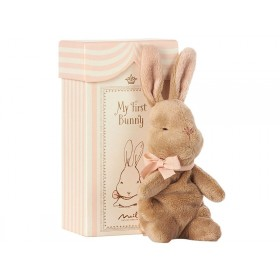 Maileg My First BUNNY in Geschenkbox rosa