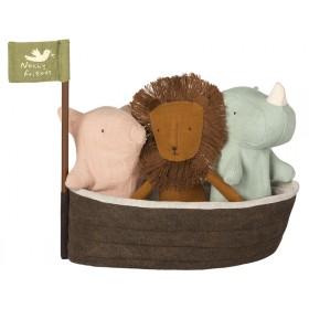 Maileg NOAH'S ARCHE mit 3 Mini-Freunden