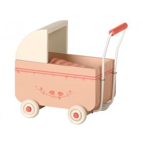 Maileg Puppen-Kinderwagen MY rosa