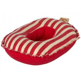 Maileg Maus Beach SCHLAUCHBOOT Red Stripes