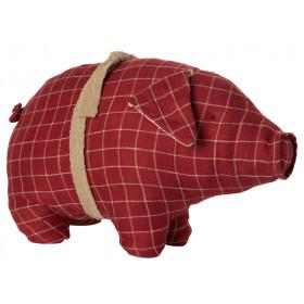 Maileg Schwein KAROS Medium rot