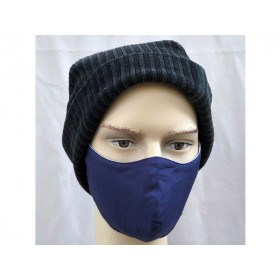 Hickups Gesichtsmaske MÄNNER nachtblau