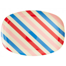 RICE Servierteller CANDY STRIPES