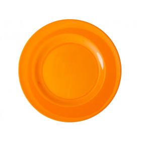 RICE Großer Melamin Teller Tangerine