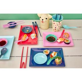RICE Sushi-Teller BELIEVE IN RED LIPSTICK