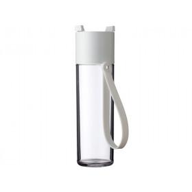 Mepal Wasserflasche JustWater 500 ml WEISS