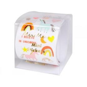 Meri Meri 500 Sticker EINHORN