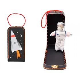 Meri Meri Minipuppe im Koffer ASTRONAUT