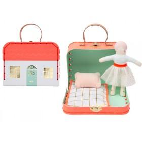 Meri Meri Minipuppe im Koffer MATHILDA