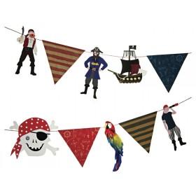 Meri Meri Piraten Party Girlande