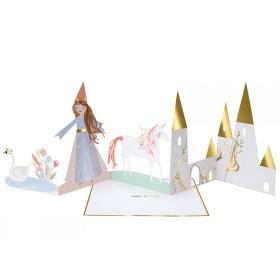 Meri Meri 3D-Grußkarte MAGISCHE PRINZESSIN
