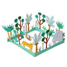 Meri Meri 3D-Grußkarte HAVE A WILD BIRTHDAY