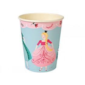Meri Meri Party Cups Pappbecher PRINZESSIN