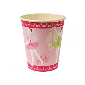 Meri Meri Party Cups Pappbecher BALLERINA