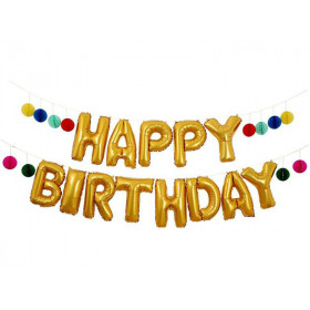 Meri Meri Ballongirlande HAPPY BIRTHDAY