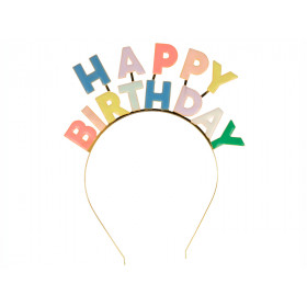 Meri Meri Haarreif HAPPY BIRTHDAY
