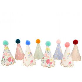 Meri Meri 8 Partyhüte ENGLISH GARDEN