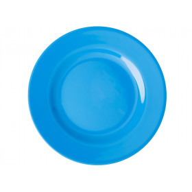 RICE Kleiner Melamin Teller OCEAN BLUE