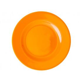 RICE Kleiner Melamin Teller tangerine