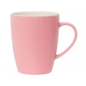Miss Étoile Bambus-Melamin Henkelbecher pink