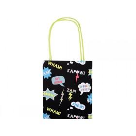 Meri Meri Party Bags Geschenktüten SUPERHELD