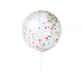 Meri Meri Riesen-Luftballons mit Konfetti bunt
