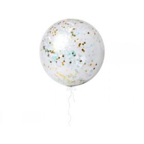 Meri Meri Riesen-Luftballons mit Konfetti irisierend