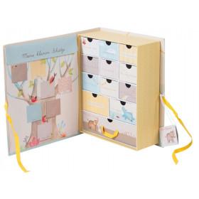 Moulin Roty Geschenk-Box Kindheitserinnerungen LES PAPOUM