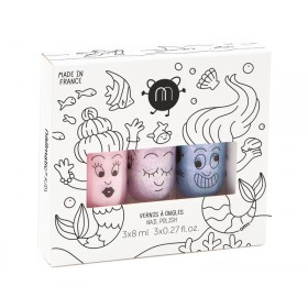 nailmatic kids Nagellack 3er Set MEERJUNGFRAU