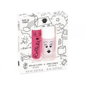 nailmatic kids Lipgloss + Nagellack Set FAIRYTALES