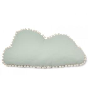 Nobodinoz Kissen Wolke Marshmallow AQUA