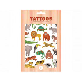 Petit Monkey Tattoos DSCHUNGELTIERE