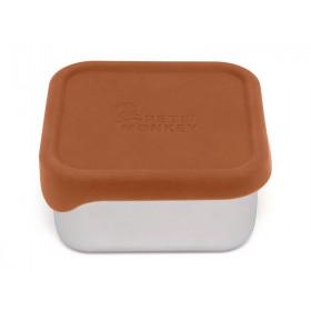 Petit Monkey Lunchbox aus Edelstahl MAE baked clay