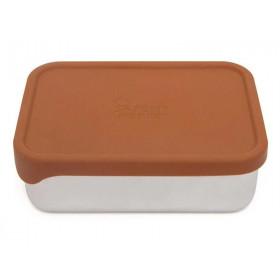 Petit Monkey Lunchbox aus Edelstahl RILEY baked clay